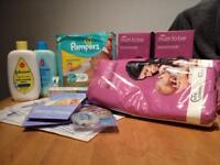 New Mum & Baby Selection Incl Pampers Johnsons - New