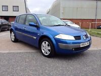 RENAULT MEGANE 1.6 DYNAMIQUE// 2004/54 PLATE// 2 OWNERS//