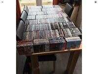 Over 400 DVDs
