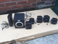 PC Line 5.1 Surround sound speakers