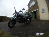 Lexmoto ZSB 125. Well maintained, low milage, 2 owners.