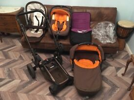 Jane Rider 3 in 1 Travel system