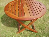 Alexander Rose hardwood patio or garden table