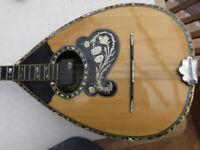 Bouzouki - 6 string by Aram Tsakirian - Famous Athens Maker