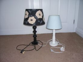 Two lamps both in excellent condition
