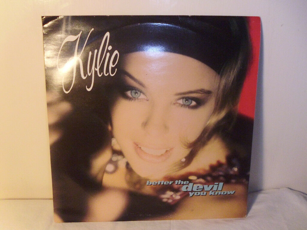 "KYLIE ""BETTER THE DEVIL YOU KNOW"" VINYL 12"" SINGLE"