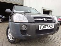 07 HYUNDAI TUCSON 2.0 4X4,MOT MAY 017,1 OWNER FROM NEW,2 KEY,VERY LOW MILEAGE JEEP,STUNNING EXAMPLE