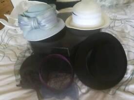 Ladies Wedding hats mother of the bride etc