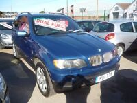 BMW X5,dual fuel 4x4,FSH,full cream leather interior,runs and drives as new,great mpg on LPG,74,000