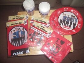 Ultimate Party Supply Bundle. One Direction Branded Official UK License. Brand New Sealed