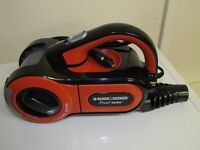 BLACK & DECKER DUSTBUSTER CAR VAC 12V,