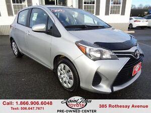 2015 Toyota Yaris LE $106.99 BI WEEKLY!!!