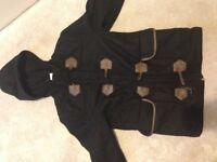 GAP Black coat (Aged 10-11 years)