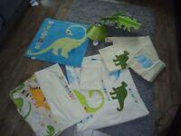 NEXT Dinosaur Bedroom Set