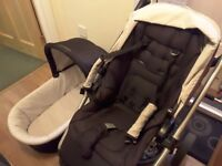 Mamas and Papas Sola Pushchair and Carry Cot