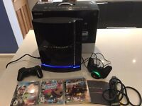 Playstation 3 Excellent condition, including original box, leads, 2 controllers and 3 games