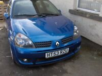 Spares or Repair 2003 Renault RS Clio 172 Cup