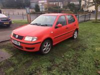 2001 Volkswagen polo 1.0 £500 great little car