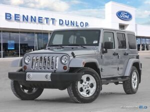 2013 Jeep Wrangler Unlimited SAHARA-NAV-HEATED LEATHER SEATS