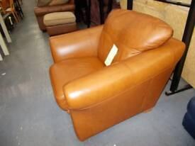 Tan Brown Armchair WF196