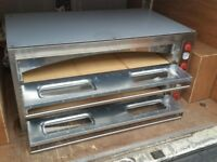 "Electric Triple Pizza Oven, Commecial, 12x13"" pizza, 1 year Warranty, Single/3 phases,Quick delivery"