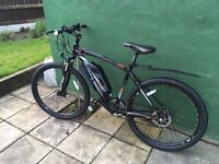 Coyote Edge 650b Electric Mountain Bike 1 month old £700