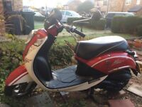 SYM Mio 100cc. 1 year MOT Scooter