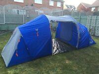 Blue 6 person tent