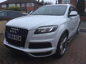 Audi Q7 S line 7 seater SUV perfect 1 lady owner car non smoker