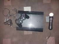 Playstation 3 superslim with games