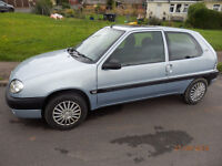 Citroen Saxo 1.1 88k long mot Lydbrook, Glos. Excellent cond., well maintained