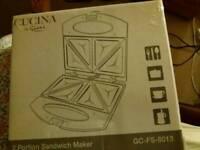 Cucina 2portion sandwich maker