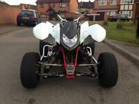 GSX 750 Quad Road Legal 2006 registered as 250 not raptor apache quadzilla