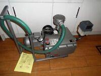 Becker Vacuum Pump U4.70SA/K And Edward's EMF 20 Mist Exhaust Filter