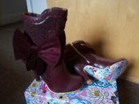Irregular Choice Boots Size 39