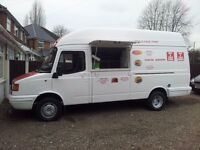 LDV CATEERING VAN BURGERS HOTDOGS MOTED & TAXED WITH FREE PITCH READY FOR WORK