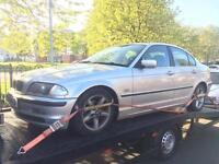 1999 BMW 323i SE auto spares or repairs quick sale