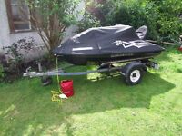 jetski jet ski boat & trailer