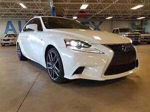 2016 Lexus IS 350 F Sport, Nav, Leather, AWD, Heated Seats