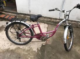 Electric bike hybrid large frame