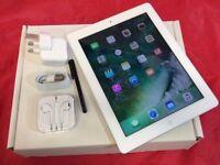 Apple iPad 4 128GB WiFi, White, +WARRANTY, NO OFFERS