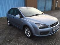 2005 Ford Focus 1.6 zetec , mot - August 2017,only 77,000 miles,2 owners from new,astra,golf,megane