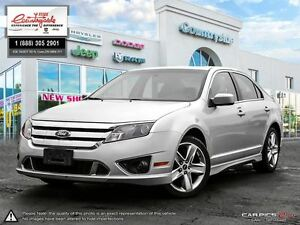 2010 Ford Fusion Sport *AWD, SPORT, V6, LEATHER*