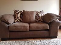2 seater sofa and arm chair in good condition