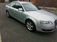 Audi A6 2.0L TDI 2006 face lift model with sat nav Bluetooth headset free