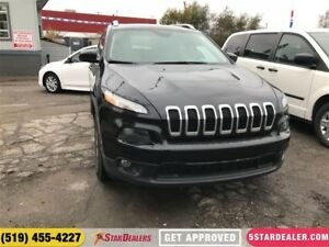 2016 Jeep Cherokee High Altitude | ONE OWNER | 4X4