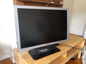 Dell moniter LCD TV W2707 used working,