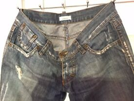 PINKO jEANS, BOUGHT IN PINKO STORE IN KENSINGTON FOR £180 ONLY 7!!!! SIZE W 90 X 100 CM