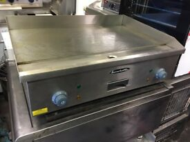NEW FLAT GRILL CATERING COMMERCIAL KITCHEN SHOP EQUIPMENT TAKE AWAY