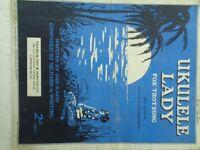Ukulele Lady VTG 1925 Sheet Music Gus Kahn Richard Whiting